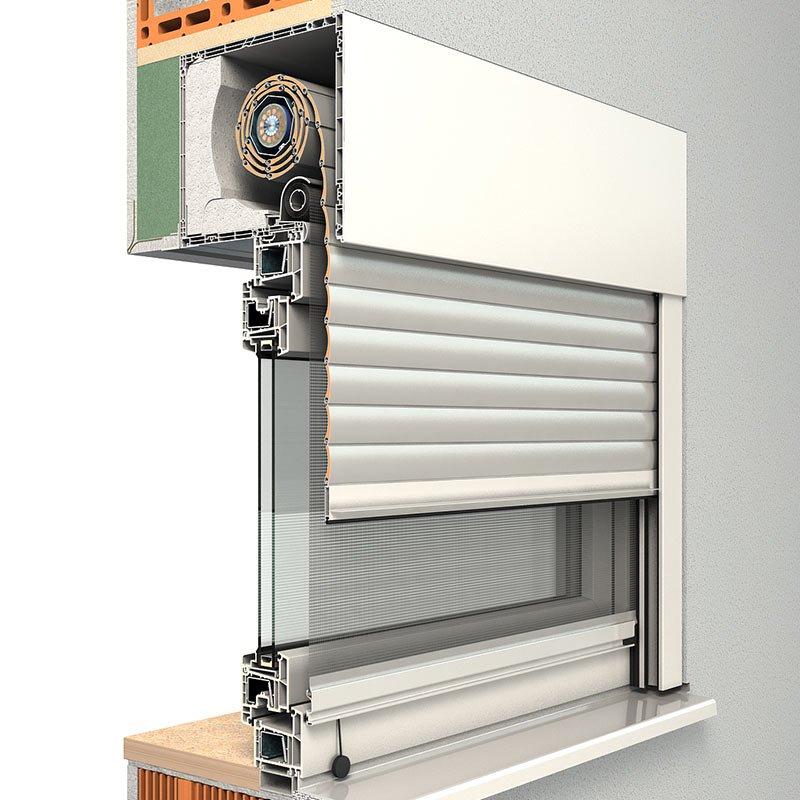 ROMA Aufsatzrollladen Karo und RA-2 für Ihre neuen Fenster