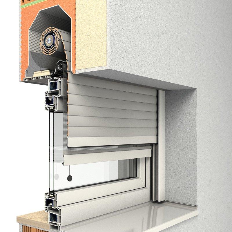 ROMA Aufsatzrollladen Puro und Puro K für Ihre neuen Fenster