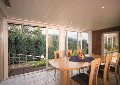 Objektbild Hebeschiebetür für Balkon oder Terrasse von innen