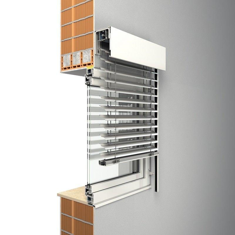 ROMA Fassadenraffstoren von Oss Bauelemente