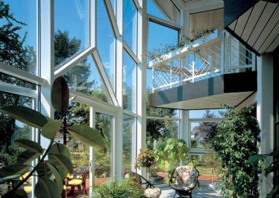 Objektbild mit VEKA Fenstern Wintergarten