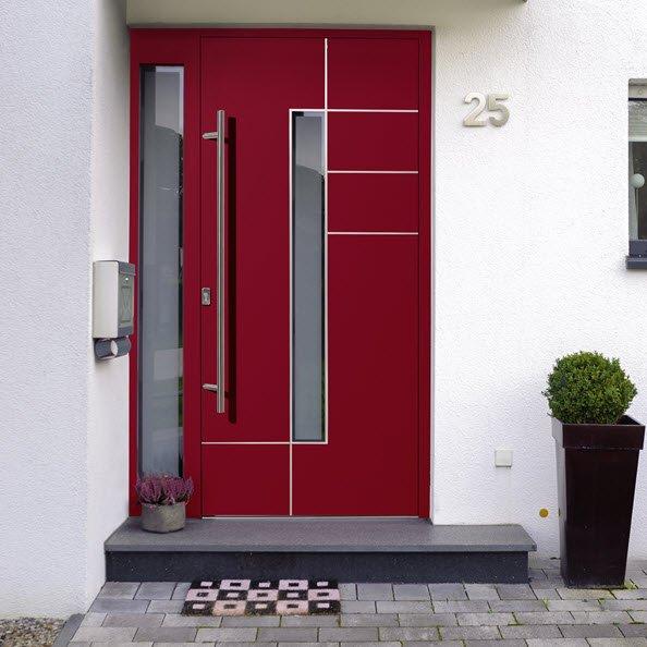 Haustür aus dem Programm Modern von Oss Bauelemente