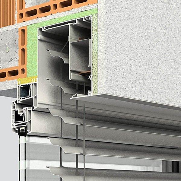 Vorsatzraffstoren INTEGRO P-RS von Oss Bauelemente
