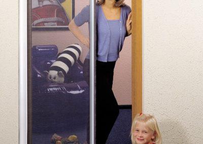 Insektenschutz Rollo Tür