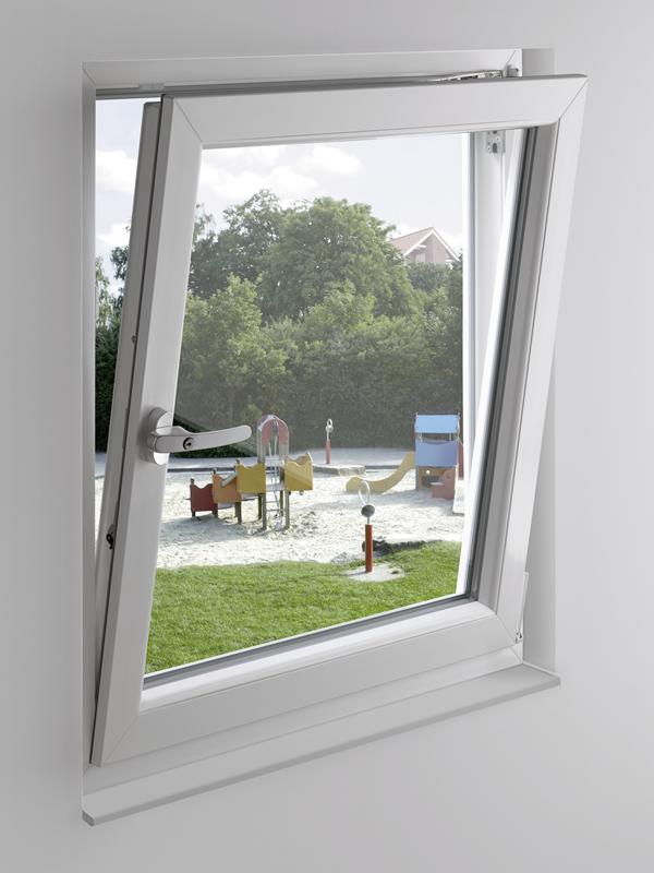 Winkhaus ActicePilot Sicherheit für Fenster gekippt