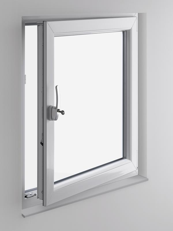 Winkhaus ActicePilot Sicherheit für Fenster offen