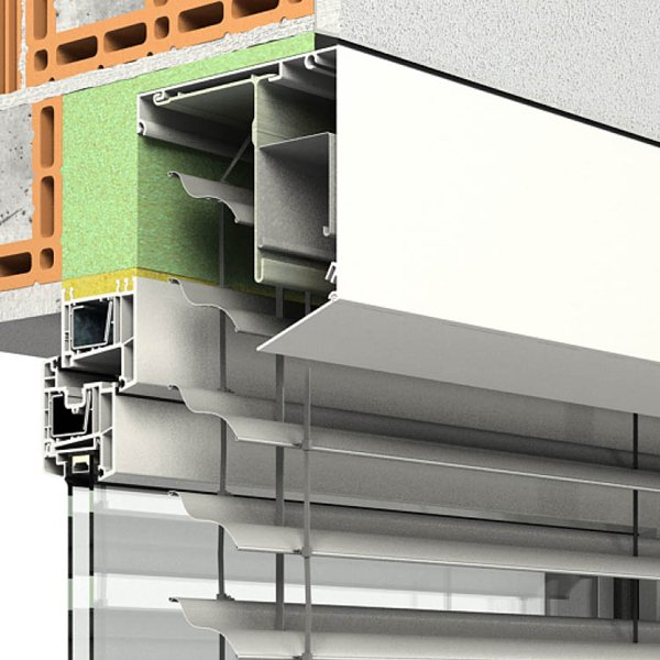 Vorsatzraffstoren PENTO P-RS von Oss Bauelemente