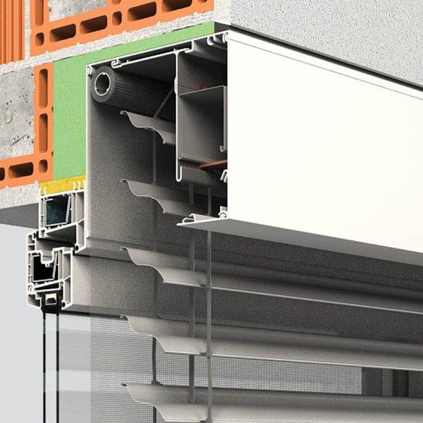 Vorsatzraffstoren QUADRO P-RS von Oss Bauelemente