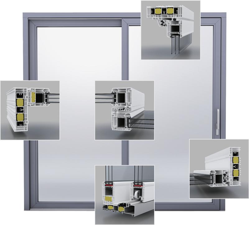 Terrassentür System VEKA QuinLine 84 für höchste Ansprüche