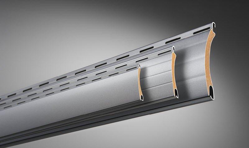 ROMA Rollladenprofil ALUMINO - stabil, leicht und hoheh Einbruchsicherheit