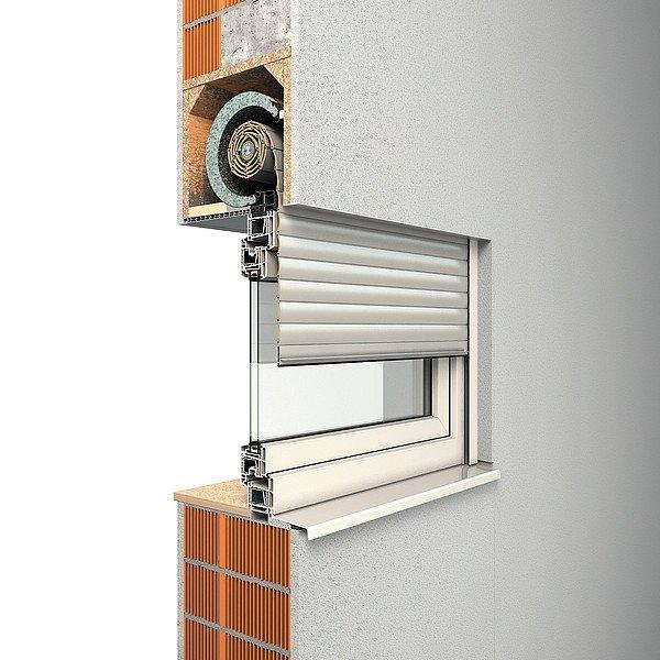 ROMA Aufsatzrollladen Thermo F und R für Ihre neuen Fenster