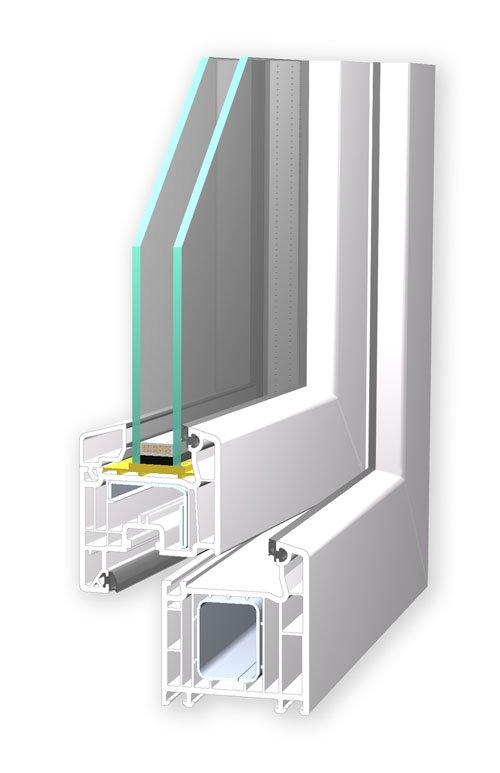 VEKA Softline 70 Profil für Ihr neues Fenster