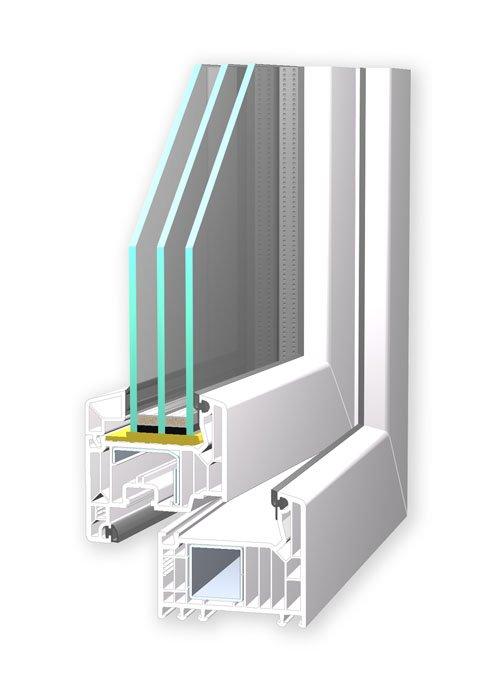 VEKA Softline 82 Profil für Ihr neues Fenster