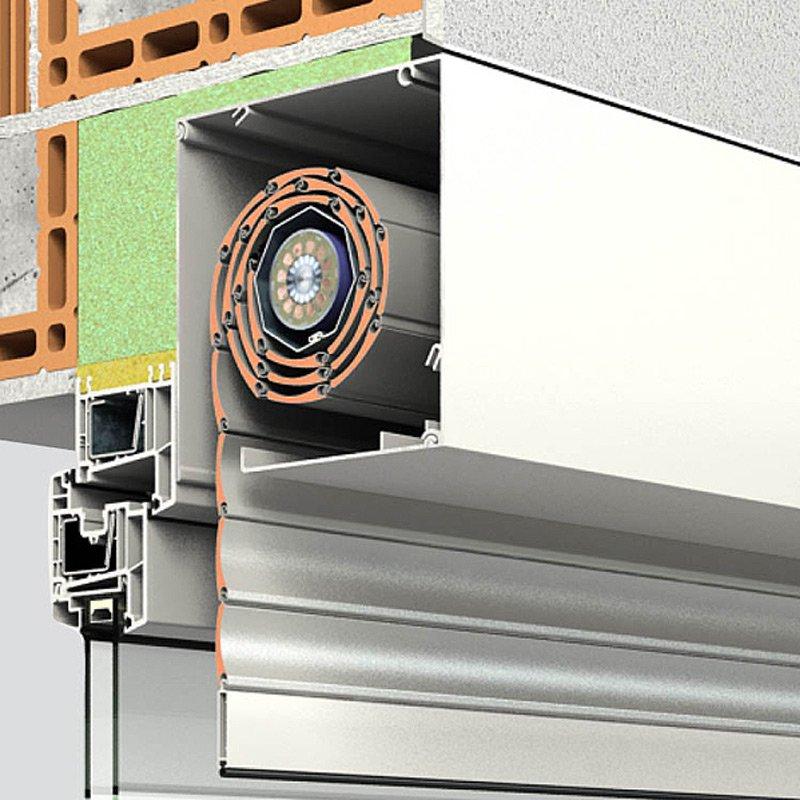 Aluminium-Rollladensystem QUADRO von ROMA