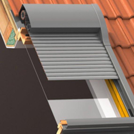 WERSO hat ROMA ein Dachfenster-Rollladensystem