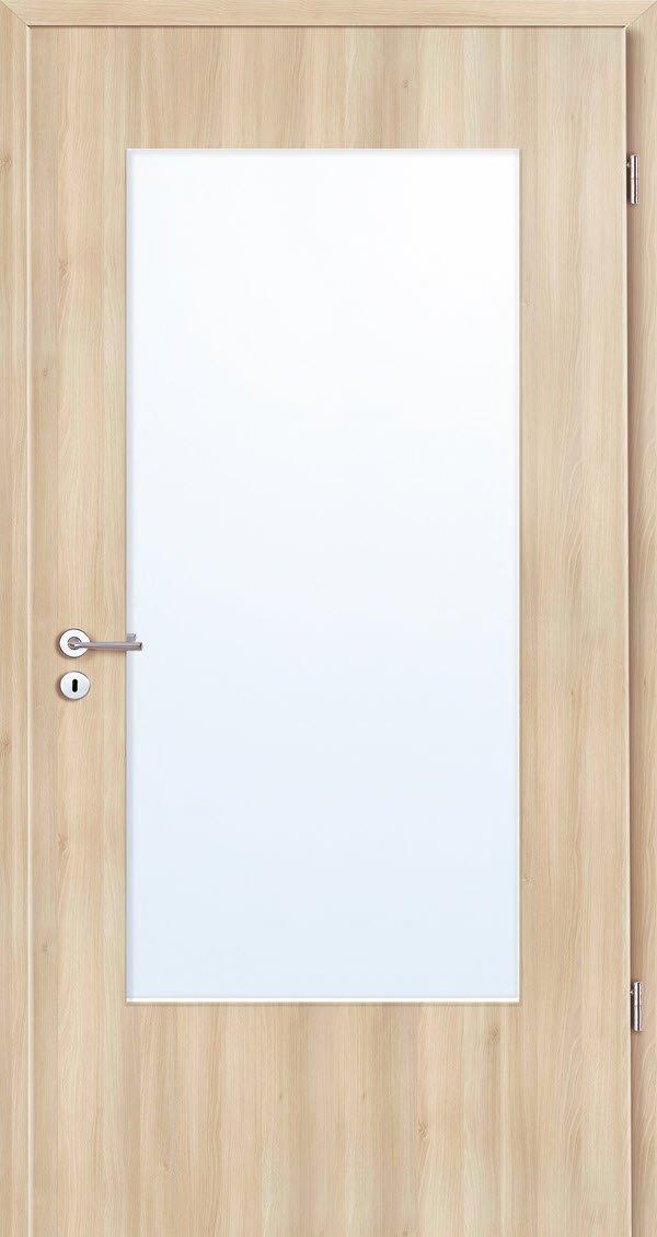 Zimmertür Grauthoff ASTRA Furnier mit Glasausschnitt