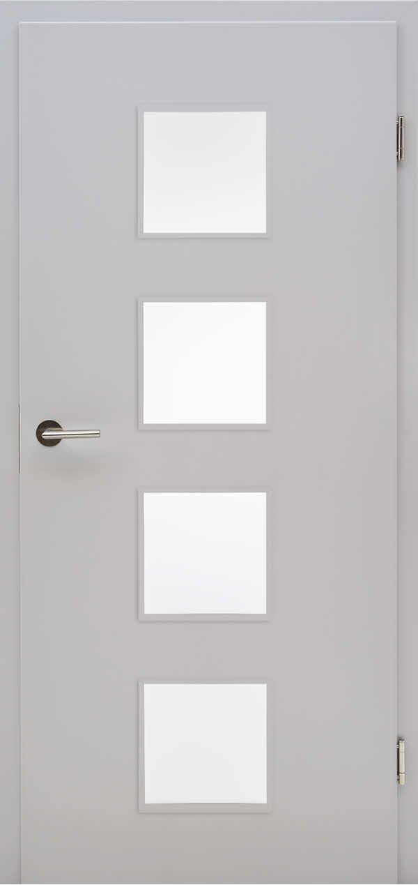 Häufig Innentüren: Zimmertüren und Wohnungseingangstüren aus CPL oder Glas IS21
