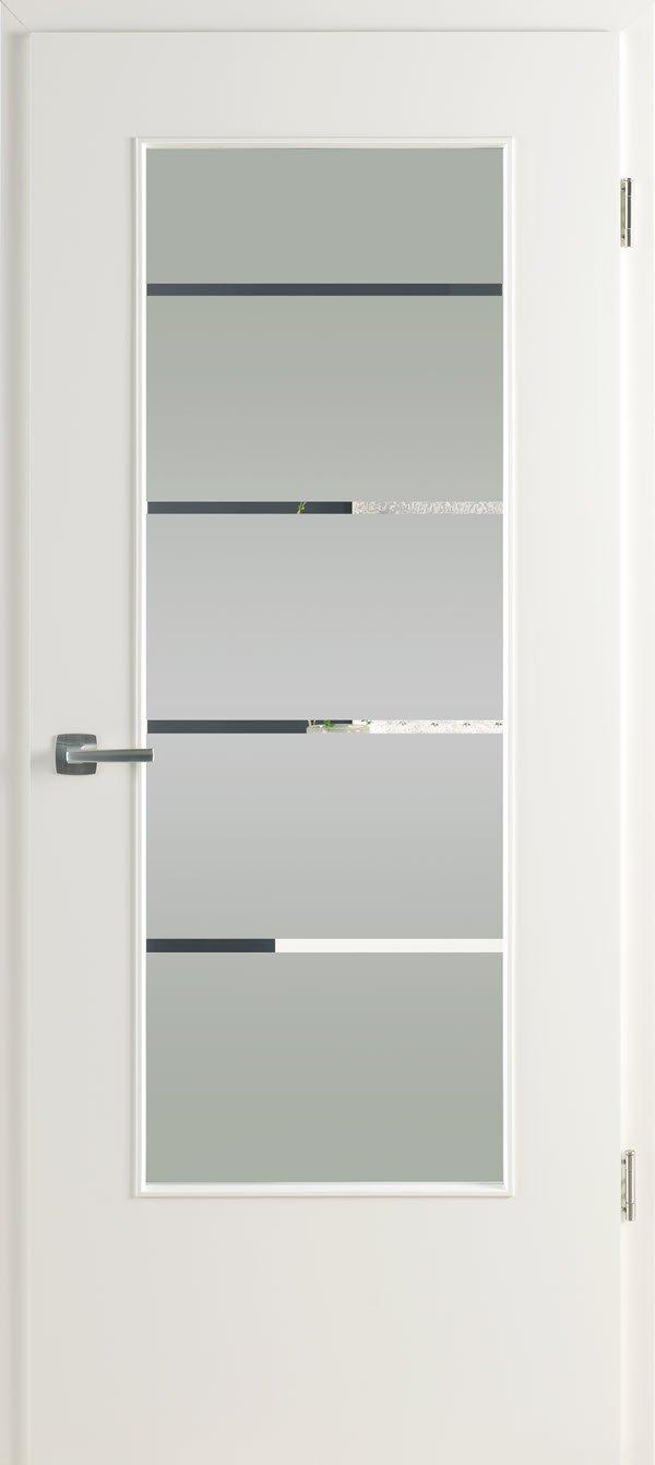 Zimmertür mit Lichtausschnitt Optima LOE 23 Lines 4