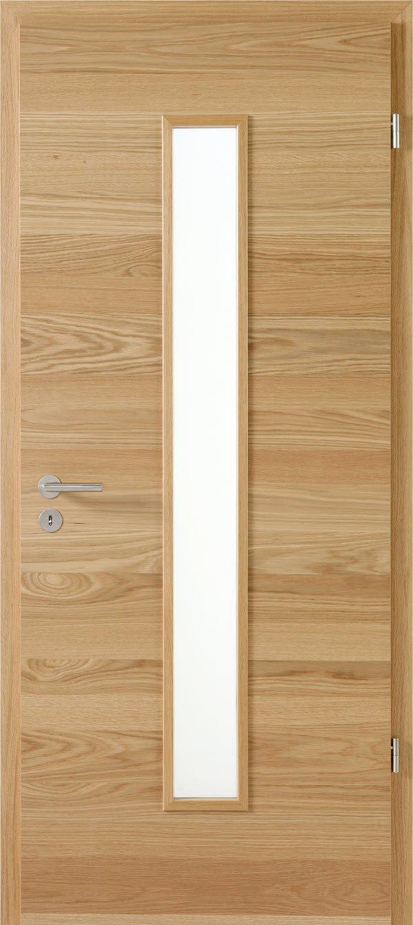 Zimmertür mit Lichtausschnitt Optima LOE 62 Eiche