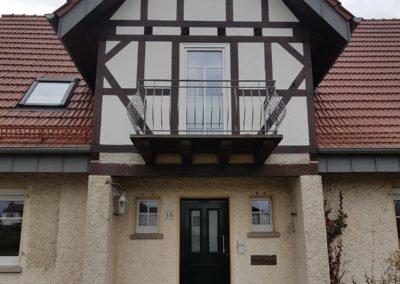 Klassische Haustür