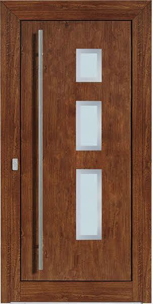 Moderne-Haustuer-Liora Golden Oak