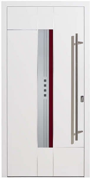Moderne-Haustuer-Redding-Esca-weiss