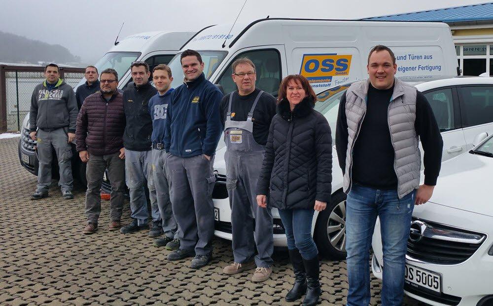 Oss Bauelemente - Die Mitarbeiter in Eiterfeld